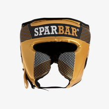 SPARBAR® SB1 KIDS FULL FACE HEADGUARD - BLACK & GOLD