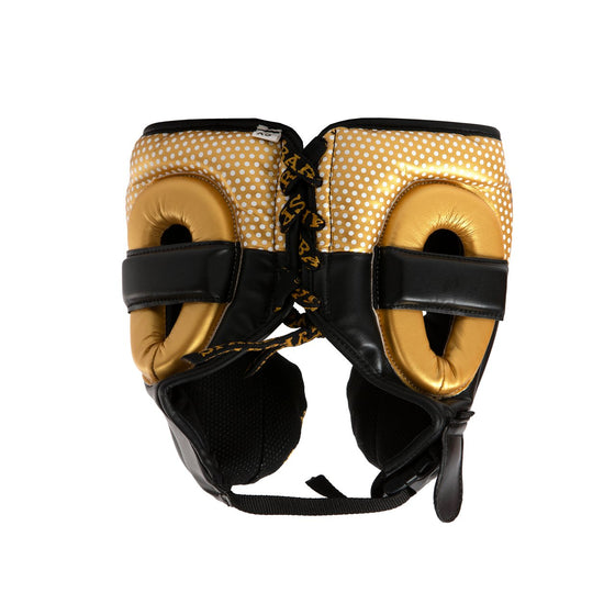 SPARBAR® SB1 KIDS FULL FACE HEADGUARD - GOLD & BLACK