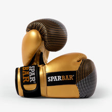 SPARBAR® SB1 KIDS VELCRO BOXING GLOVES - BLACK & GOLD