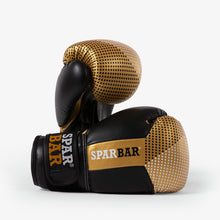 SPARBAR® SB1 KIDS VELCRO BOXING GLOVES - GOLD & BLACK