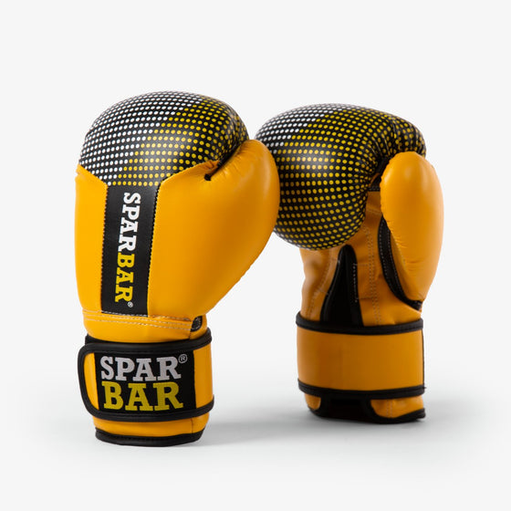 SPARBAR® SB1 KIDS VELCRO BOXING GLOVES - YELLOW