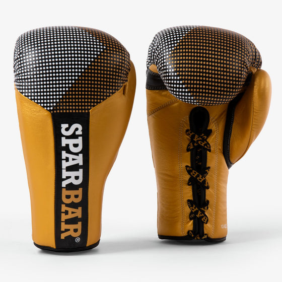 SPARBAR® SB1 LACED BOXING GLOVE - BLACK & GOLD