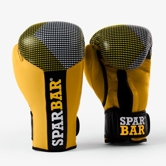 SPARBAR® SB1 VELCRO BOXING GLOVE - YELLOW