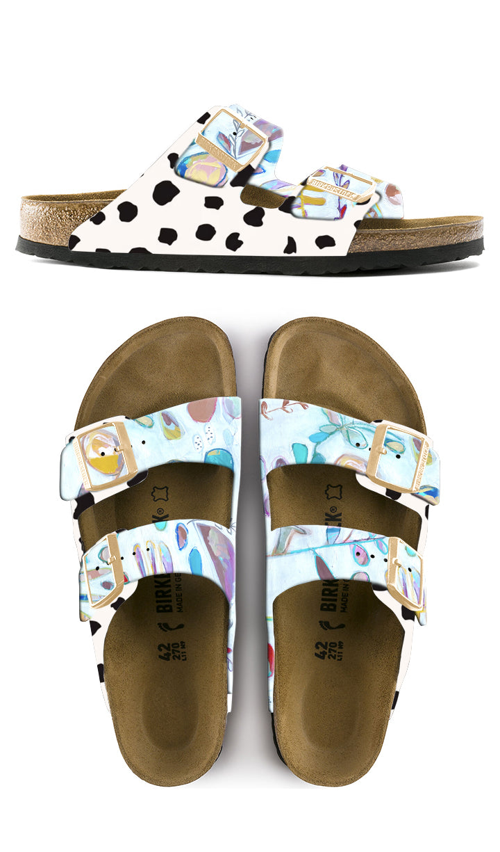 RENEWAL CUSTOM BIRKENSTOCKS by Deanna Hamsley x Michael Grey