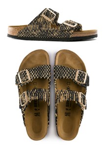 MICHAEL GREY X TAXIDERMY LUX PYTHON CUSTOM  BIRKENSTOCK