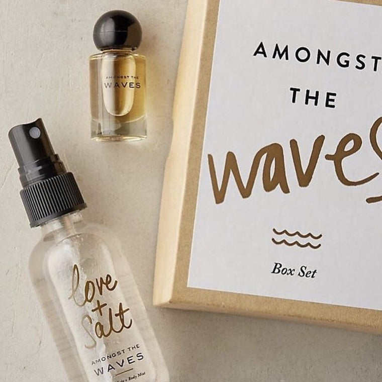 amongst the waves gift set