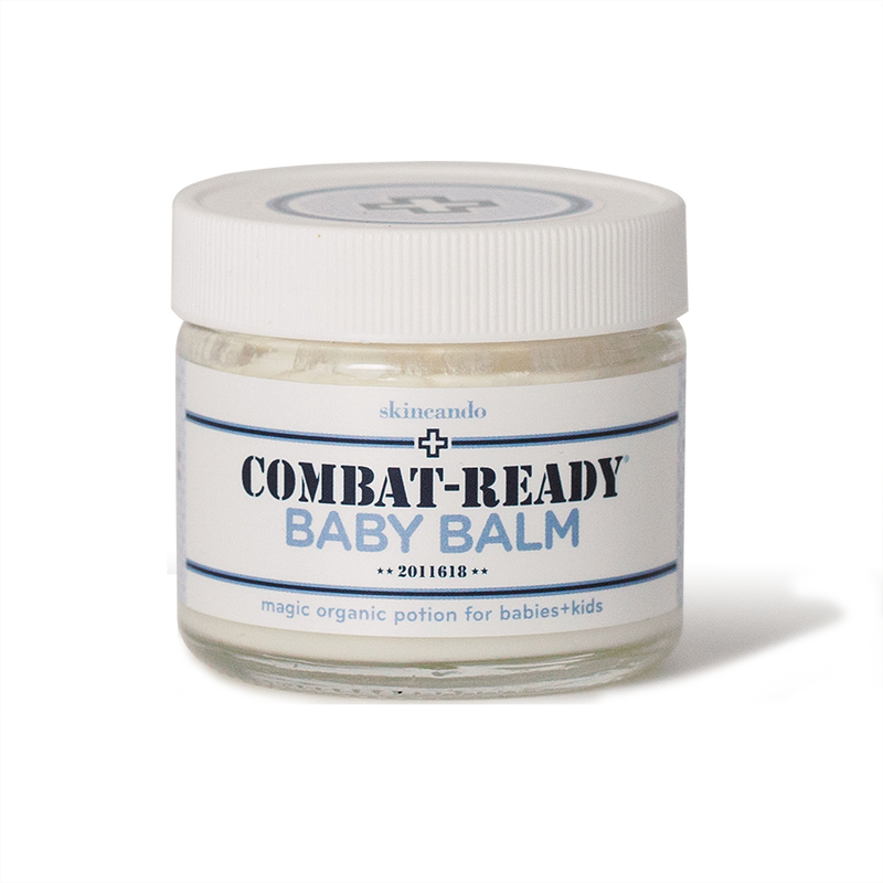 Combat-Ready Balm for babies + kids
