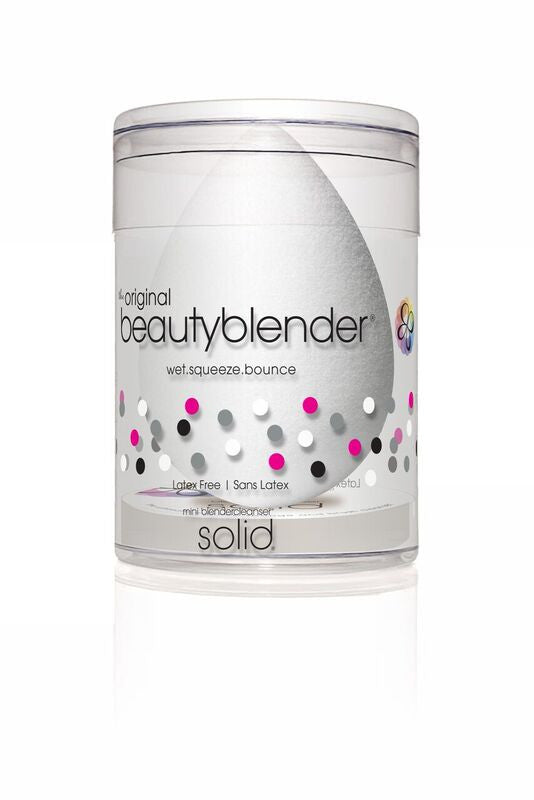 PURE beautyblender with mini solid