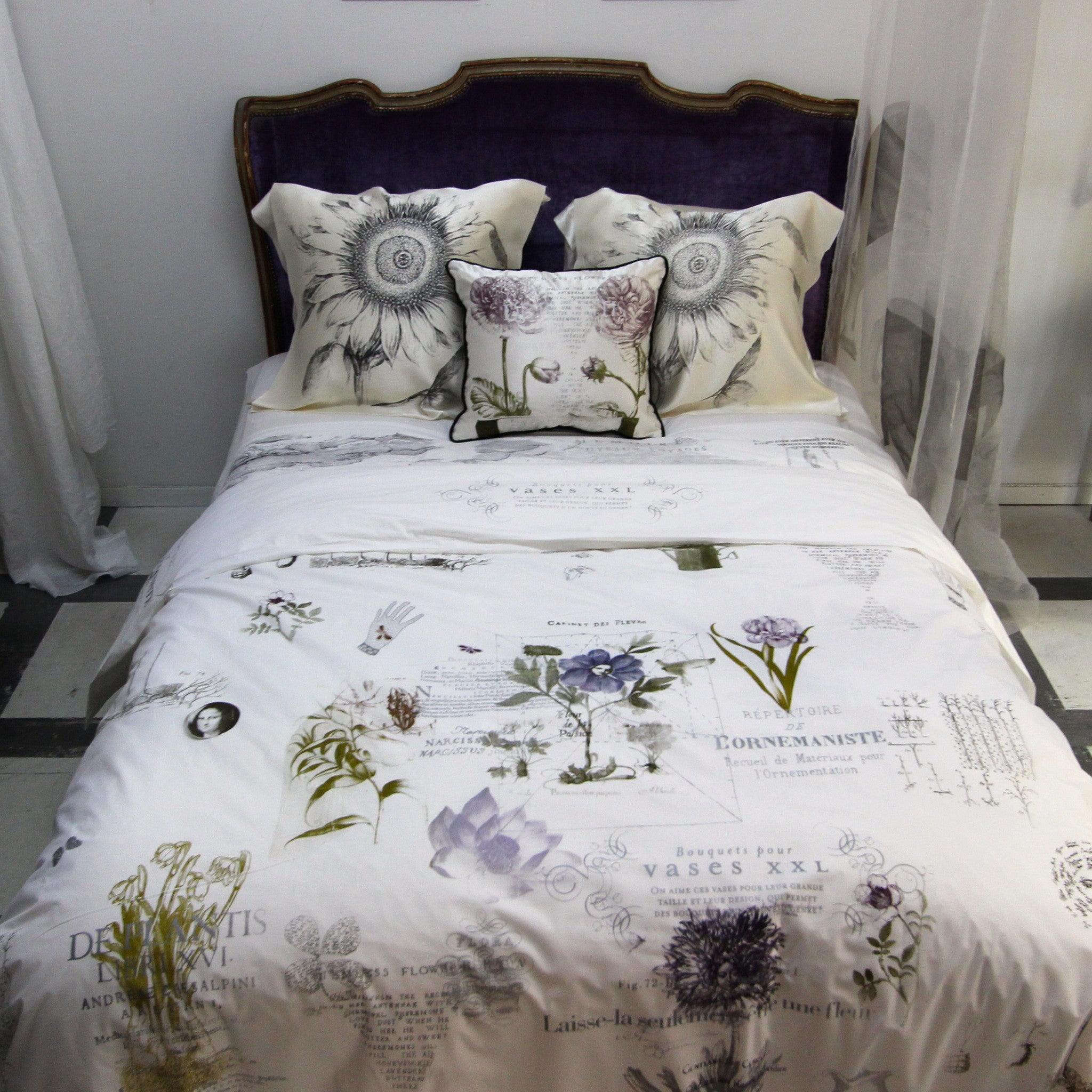 New Botanics Duvet Cover - Front Room Fabrics