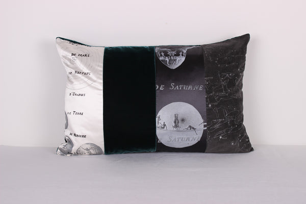 Planisphere Cushion - Front Room Fabrics