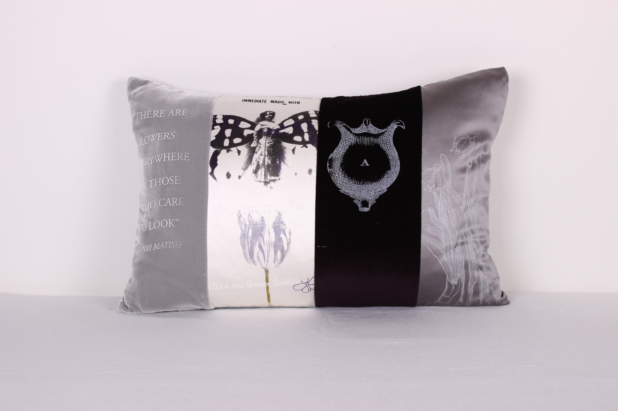 Butterfly Girl Cushion