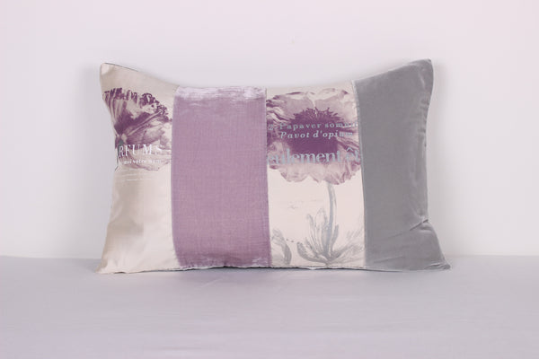 Light Pink Poppies Cushion - Front Room Fabrics