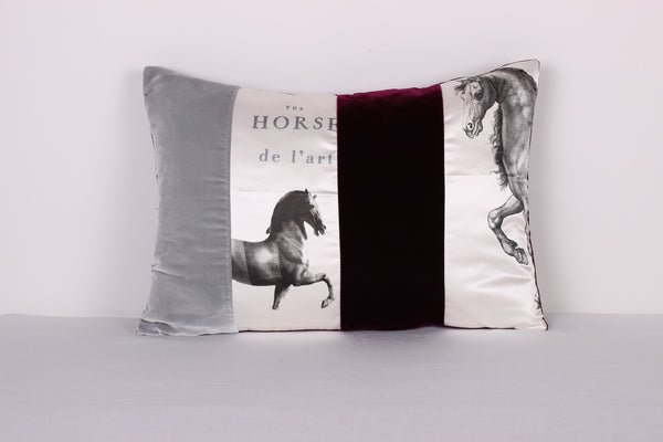 Equine Cushion - Front Room Fabrics