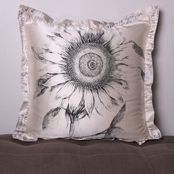 Sunflower Euro Silk Pillowslip