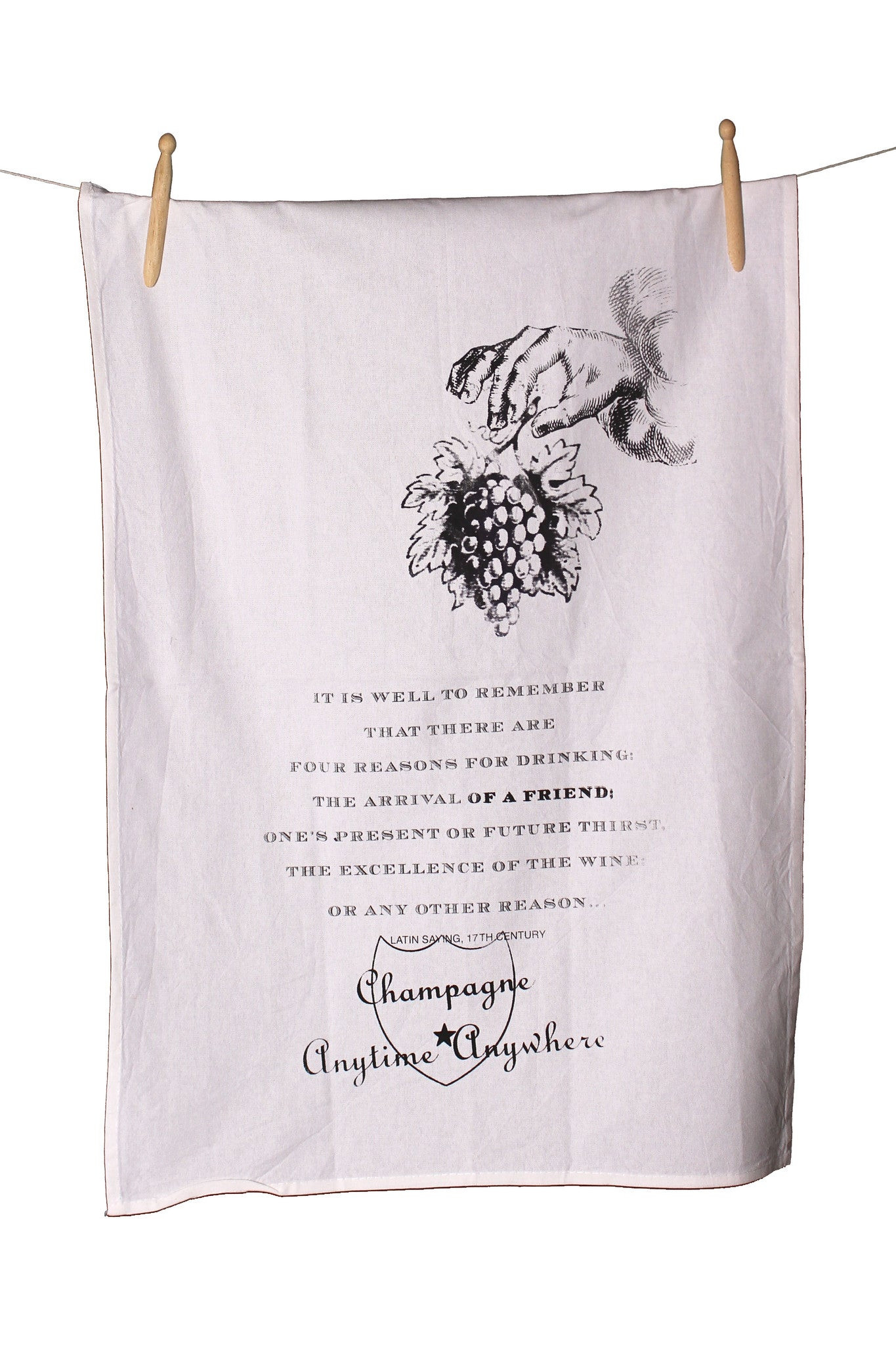 Four Reasons to Drink Cotton Tea Towel