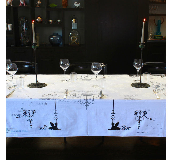 Candelabra Tablecloth - Front Room Fabrics