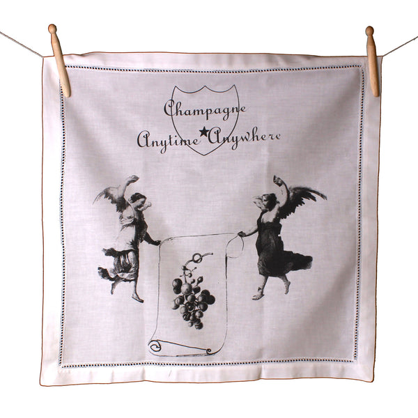 Champagne Angel Napkin - Front Room Fabrics