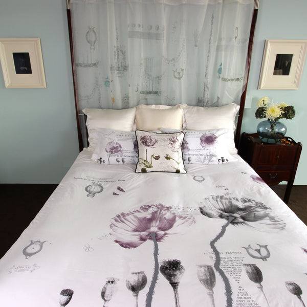 Poppies Duvet Cover - Front Room Fabrics