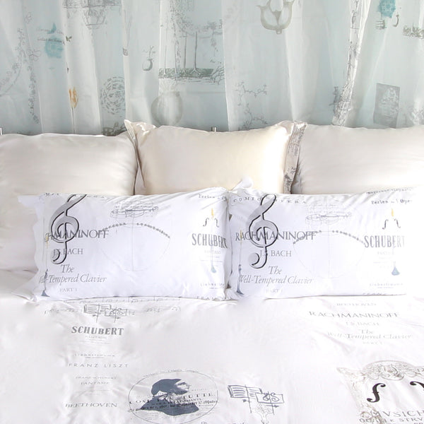 Musical Cotton Pillowslips