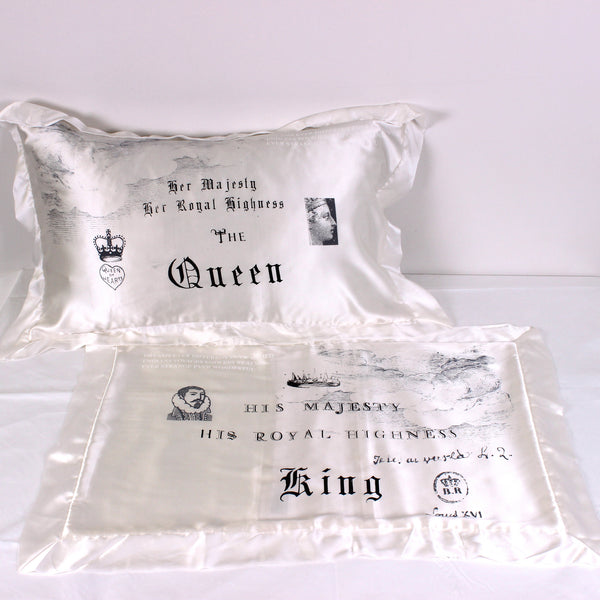 Royals Silk Pillowslip Pair