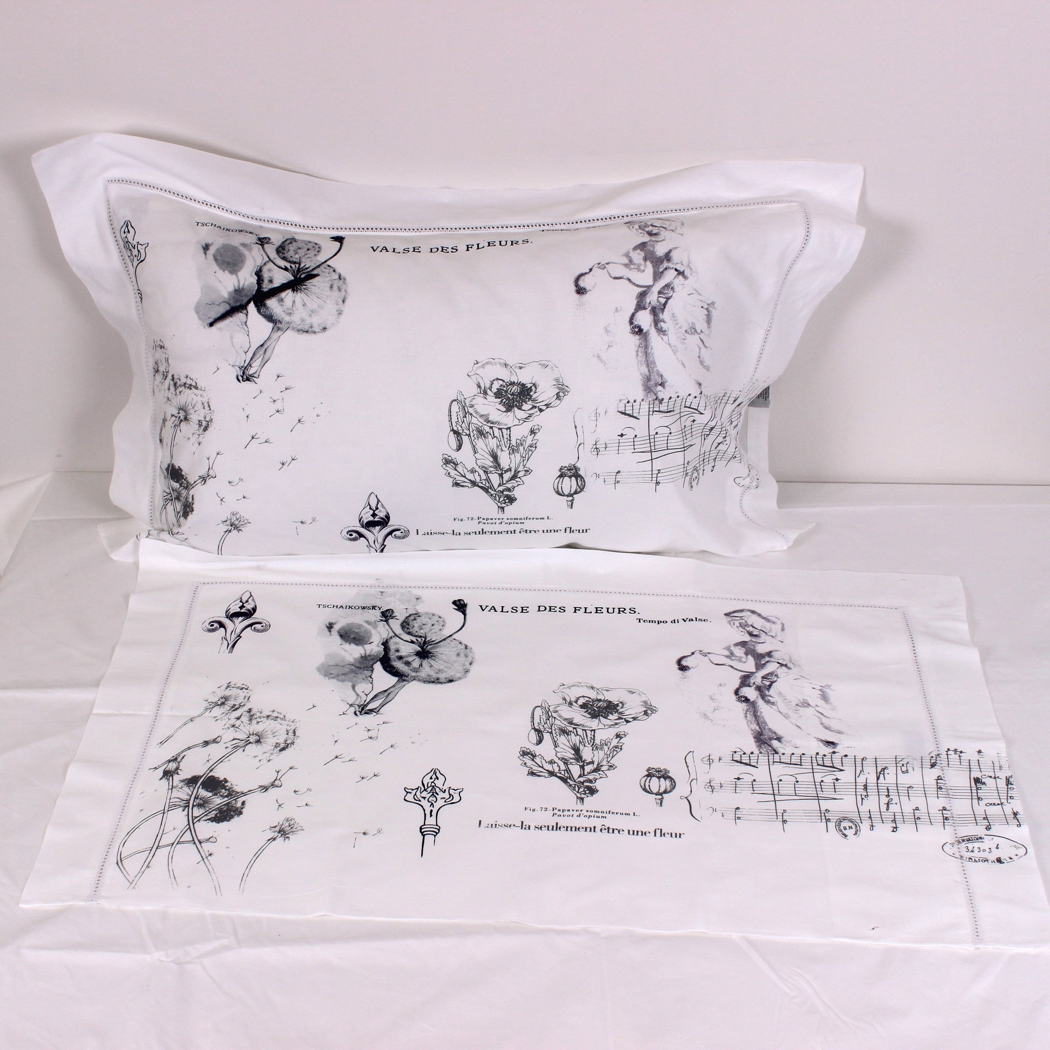 Flora Cotton Pillowslips - Pair