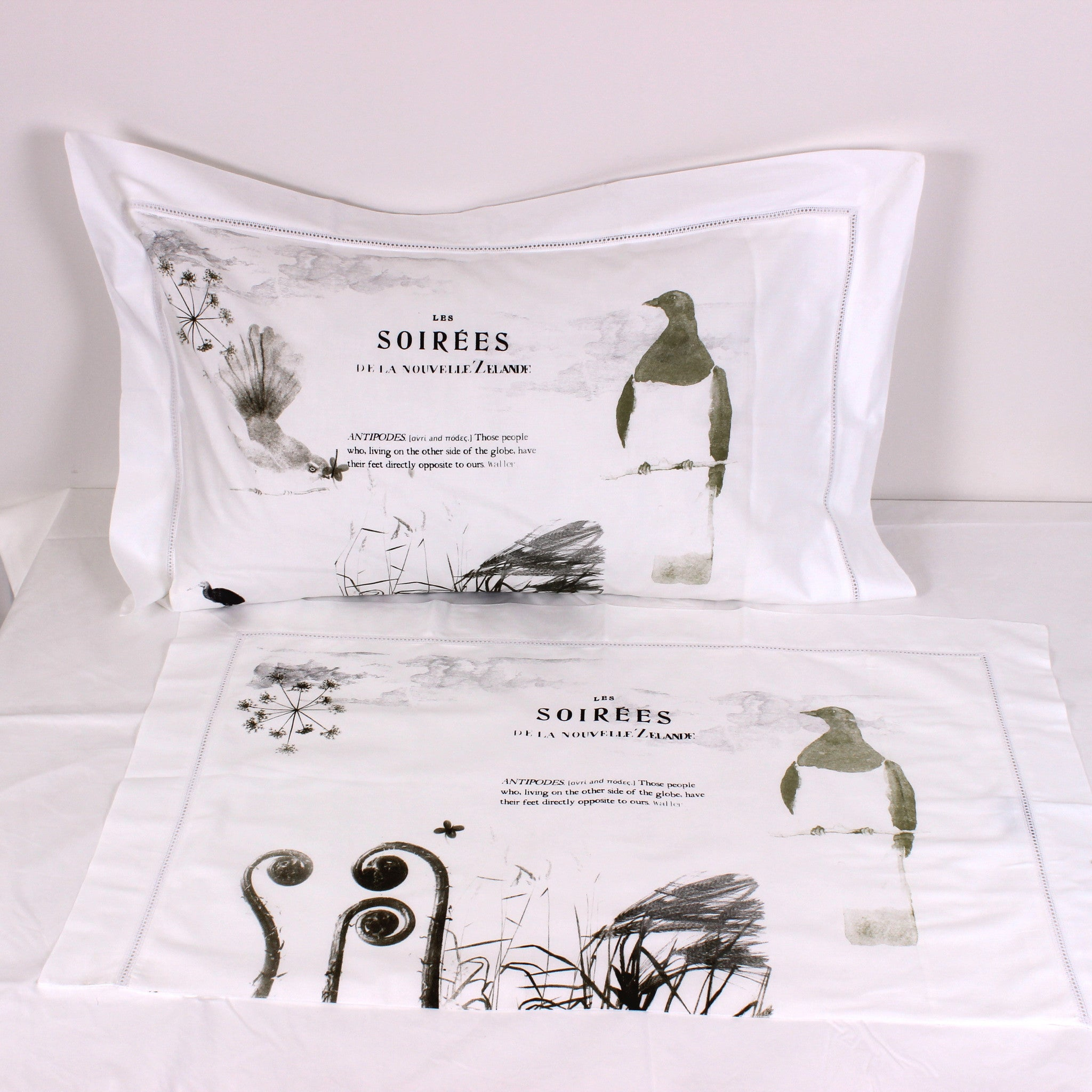 Antipodes Cotton Pillowslips - Pair