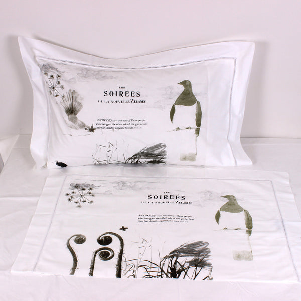 Antipodes Cotton Pillowslips - Pair - Front Room Fabrics