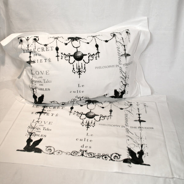 Chandelier Cotton Pillowslips - Pair
