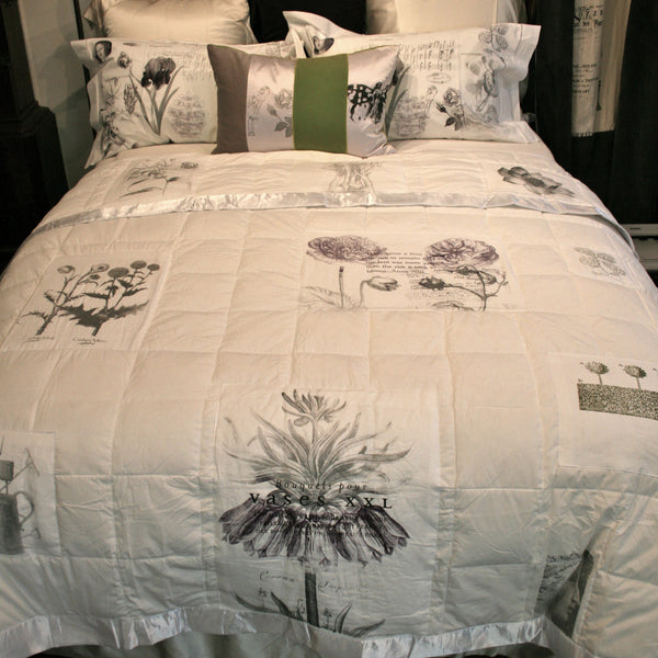 Botanics Feather Blanket