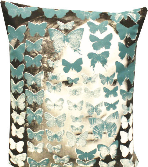 Papillon Face Cushion - Front Room Fabrics