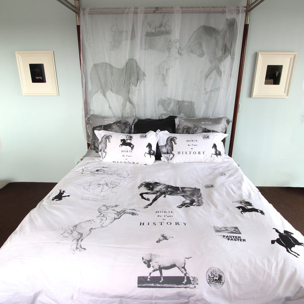 Equine Duvet Cover - Front Room Fabrics