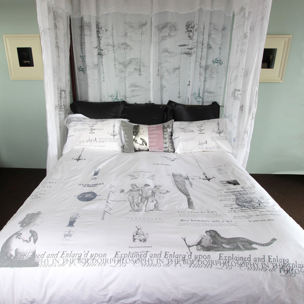 Philosophy of the Boudoir Duvet Cover