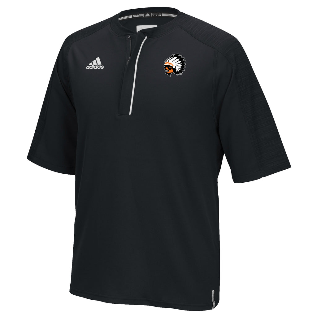 Adidas 1/4 zip Baseball Shirt