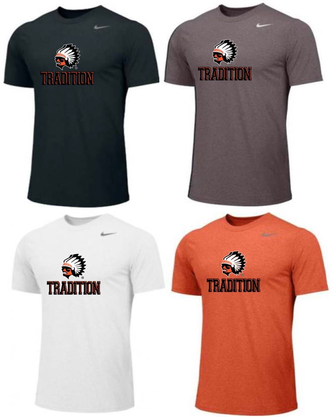 Warrior Tradition Nike Youth Tee
