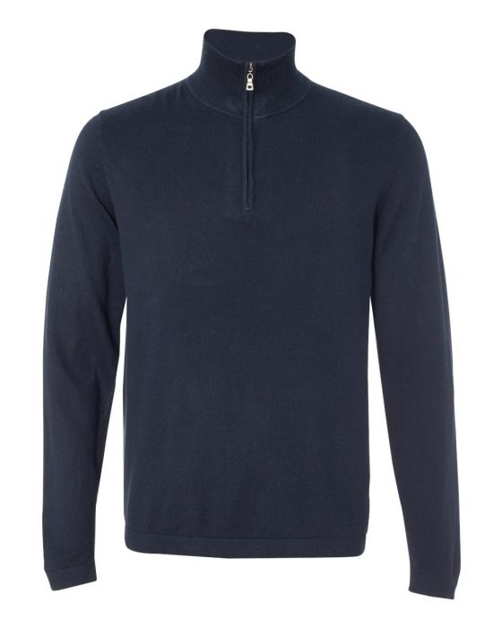 Cotton Cashmere 1/4 Zip