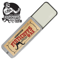15g slide top tin of Fisticuffs Mustache Wax