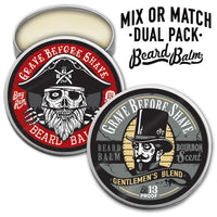 GRAVE BEFORE SHAVE™  BEARD BALM DUAL PACK