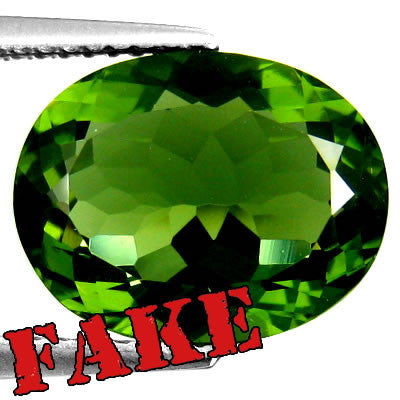 Fake Moldavite Example 3