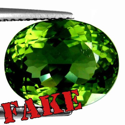 Fake Moldavite Example 4