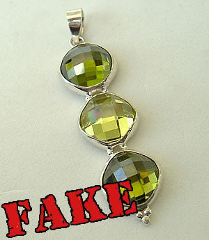 Fake Moldavite Example 9