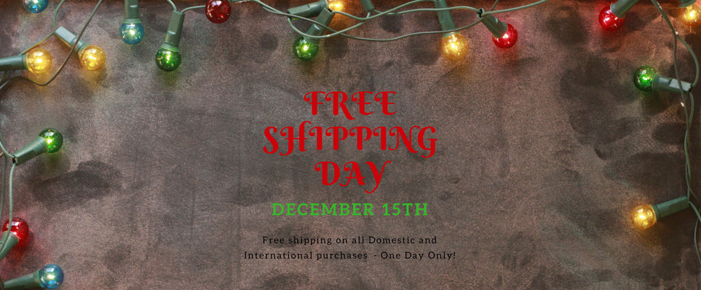 Free Shipping Day from Moldavite Plus