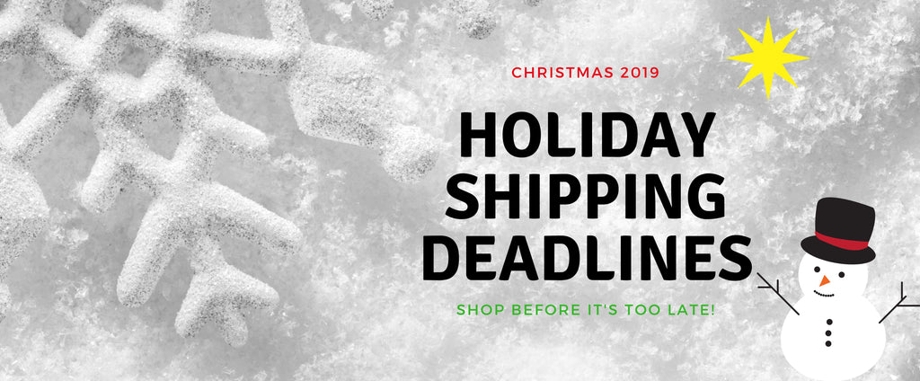 Moldavite Plus 2019 Shipping Deadlines
