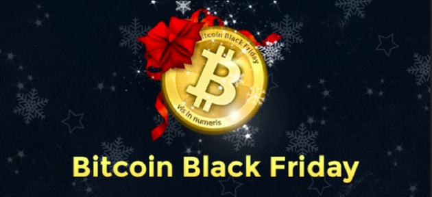 Bitcoin Black Friday Banner