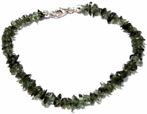Buy Tumbled Moldavite Bracelet