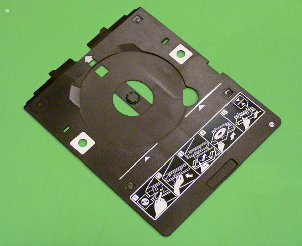 OEM Epson CDR CD DVD Printing Tray Shipped With XP-610, XP-615, XP-701, XP-702