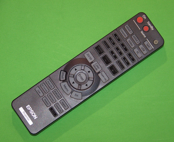Epson Projector Remote Control: PowerLite Home Cinema 3020, 5020, 5020 UB