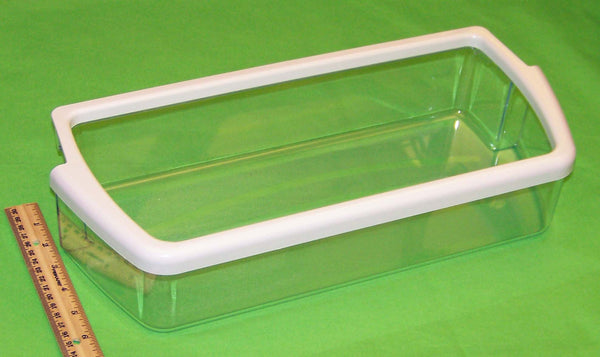 NEW OEM Whirlpool Refrigerator Door Bin Basket Shelf Originally Shipped With GD5SHGXLQ00, GS6SHAXLL03, ED22CQXFB01