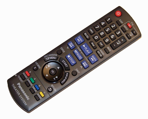 OEM Panasonic Remote Control Originally Supplied with SABT228, SCBT228