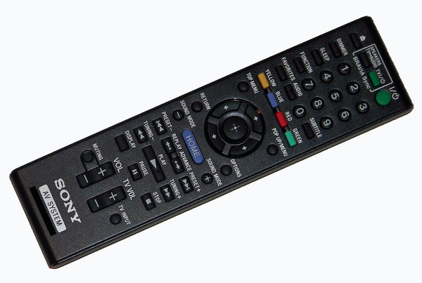 OEM Sony Remote Control Originally Supplied With: HBDE280, HBD-E280, HBDE580, HBD-E580, HBDT58, HBD-T58