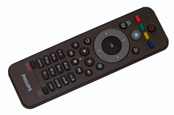 OEM Philips Remote Control Originally Supplied With: BDP2100, BDP2100/F7, BDP2100F7, BDP2105, BDP2105/F7, BDP2105F7